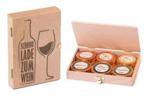 Schokolade zum Wein 12 Golddublonen, Ihre Genuss-Agentur