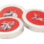 Weihnachtsschokolade rote Taler, Genuss-Agentur