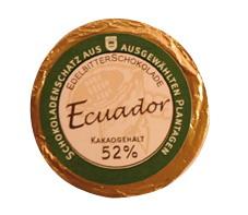 Golddublonen Ecuador 52 % Kakao, Genuss-Agentur