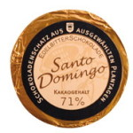 Golddublonen Santo Domingo 71 % Kakao, Genuss-Agentur
