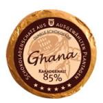 Golddublonen Ghana 85 % Kakao, Genuss-Agentur
