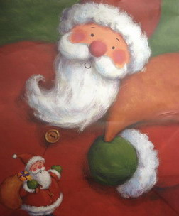 Papiertüte Weihnachtsmann, Genuss-Agentur
