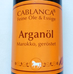 Arganöl Cablanca Feinkost geröstet, Genuss-Agentur
