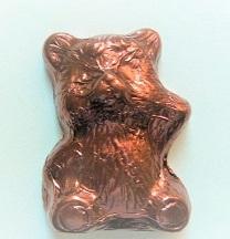 Bär Balu aus Schokolade braun, Ihre Genuss-Agentur