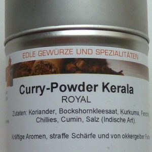 Curry-Powder Kerala, Ihre Genuss-Agentur