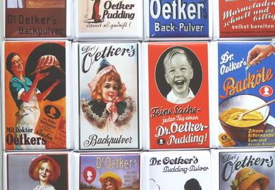 Dr. Oetker Täfelchen Schokolade, Genuss-Agentur