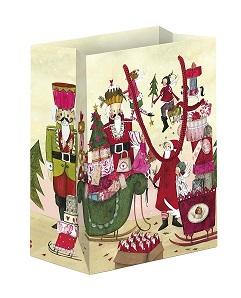Geschenktüte Weihnachtstreiben, Ihre Genuss-Agentur