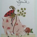 Hochwertige Grußkarten mit Umschlag, Viel Glück, Genuss-Agentur