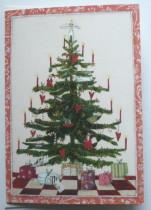 Hochwertige Grußkarten mit Umschlag, Weihnachten Tannenbaum, Genuss-Agentur