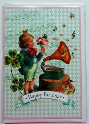 Grußkarte - Happy Birthday, Ihre Genuss-Agentur
