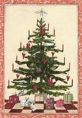 Weihnachtskarte - Tannenbaum, Ihre Genuss-Agentur