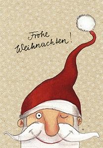 Weihnachtskarte - Nikolaus, Ihre Genuss-Agentur