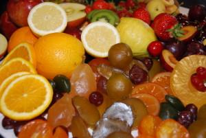 Köstlichkeiten aus Früchten