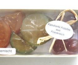 Kandierte Früchte gemischt Geschenkpackung 100 g, Genuss-Agentur