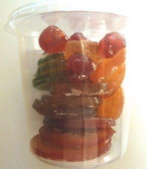 Kandierte Früchte gemischt 220 g, Ihre Genuss-Agentur