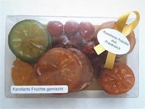 Präsent Kandierte Früchte gemischt 220 g, Ihre Genuss-Agentur