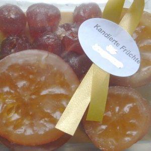 Präsent Kandierte Früchte gemischt 210 g, Genuss-Agentur