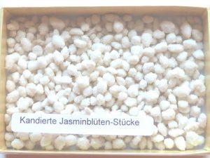 Kandierte Jasminblüten-Stücke 30 g Frankreich, Ihre Genuss-Agentur