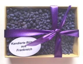 Kandierte Veilchenblüten-Stücke Frankreich, Genuss-Agentur
