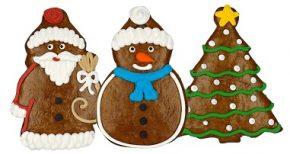 Weihnachts-Lebkuchen-Figuren, Ihre Genuss-Agentur