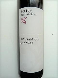 Mango Balsamessig Cablanca, Ihre Genuss-Agentur