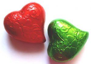 Nostalgie-Herz aus Schokolade, Ihre Genuss-Agentur