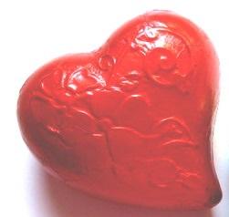 Nostalgie-Herz aus Schokolade 130 g, Ihre Genuss-Agentur