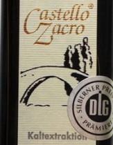 Olivenöl Castello Zacro 250 ml, Genuss-Agentur