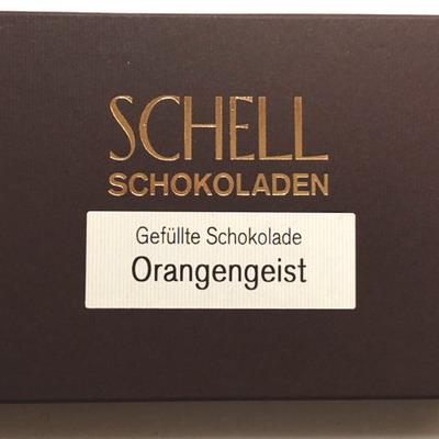 Schell Schokolade Orangengeist, Ihre Genuss-Agentur