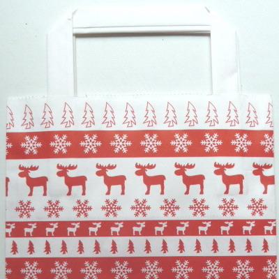 Papiertüte Weihnachtsmotiv klein, Genuss-Agentur