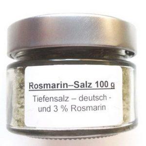 Rosmarin-Salz Cablanca Feinkost, Genuss-Agentur