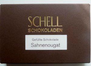 Schell Sahne-Nougat Schokolade, Ihre Genuss-Agentur