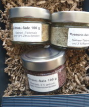 Präsent hochwertige Salze Cablanca Feinkost, Genuss-Agentur