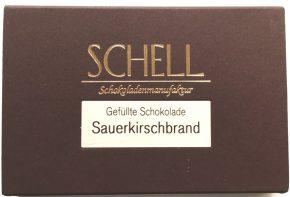 Schell Schokolade Sauerkirschbrand, Ihre Genuss-Agentur