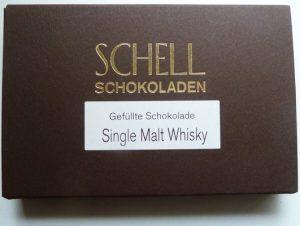 Schell Schokolade Whisky Single Malt, Ihre Genuss-Agentur