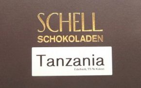 Schell Schokolade Tanzania 75 %, Ihre Genuss-Agentur