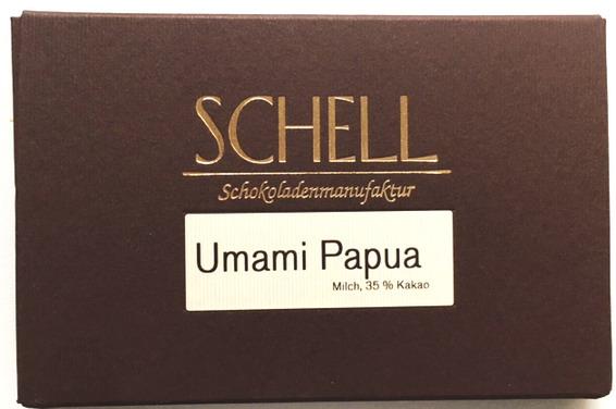 Schell Schokolade Unami Papua 35 %, Ihre Genuss-Agentur