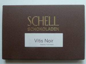 Schell Schokolade Vitis Noir 70 %, Ihre Genuss-Agentur