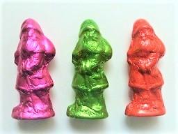 Weihnachtsmann Schokolade 8,5 cm, Ihre Genuss-Agentur