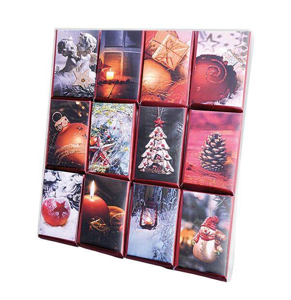 Weihnachts-Täfelchen Schokolade, Genuss-Agentur
