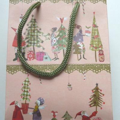 Geschenktüte Weihnachtsmotiv, Genuss-Agentur