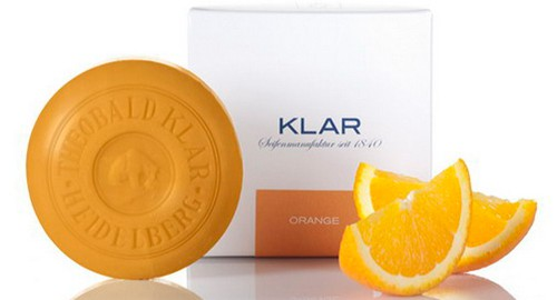 Klar Orangenseife, Genuss-Agentur